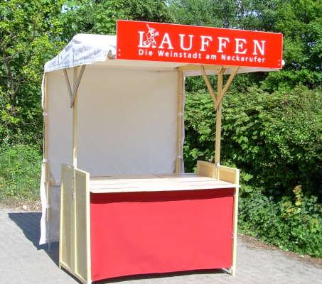 Klipklap Eco Friendly Wooden Market Stall Compact Offer