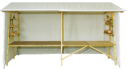 klipklap marktstand infostand verkaufsstand aus holz kaufen f r kologische nachhaltige. Black Bedroom Furniture Sets. Home Design Ideas